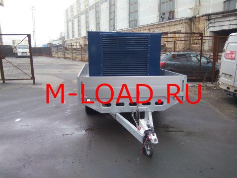нагрузочный модуль НМ-800-К2 на прицепе