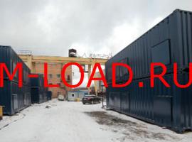 Нагрузочный комплекс 20 МВт в 2 яруса (напряжение 6-10 кВ)