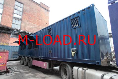 Нагрузочный модуль 10 кВ (мощность - 6 МВт)