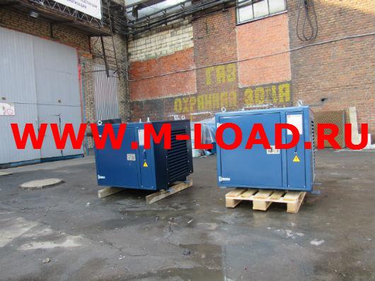 2 нагрузочных модуля по 300 кВт для тестирования ДГУ AKSA