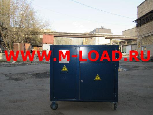 Нагрузочный модуль на 100 кВт с напряжением 24В