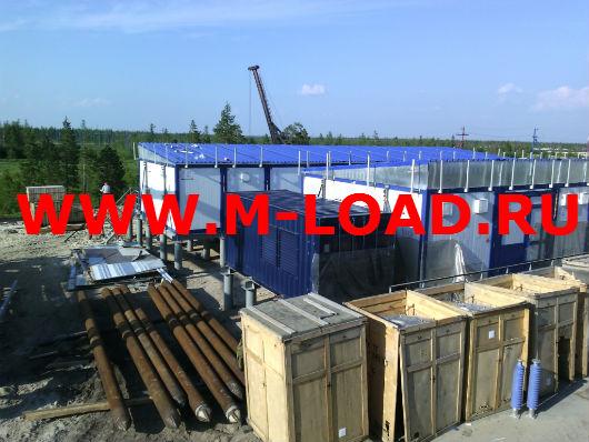 Нагрузочный модуль 2 МВт, 10 кВ для месторождения в Таркосале