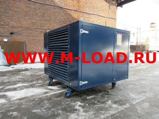 Балластный реостат на 450 кВт для энергетического предприятия