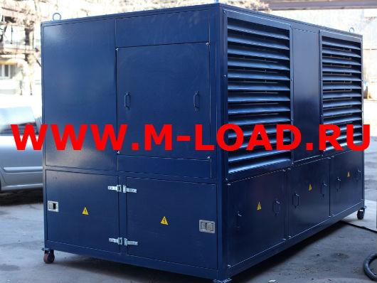 Нагрузочный модуль 1800 кВт для нефтезавода