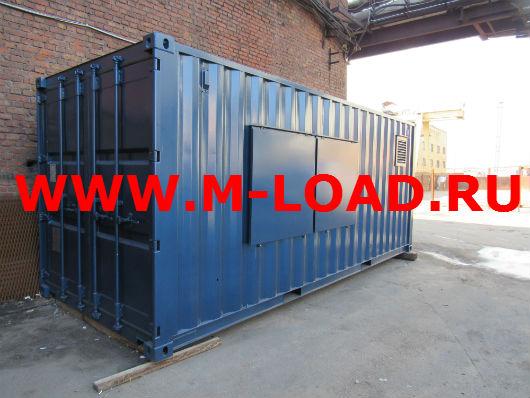 Высоковольтный нагрузочный модуль с напряжением 35 кВ и мощностью 2000 кВт