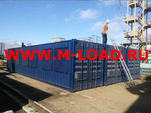 Нагрузочный комплекс 18 МВт (6 кВ) для газотурбинных генераторов