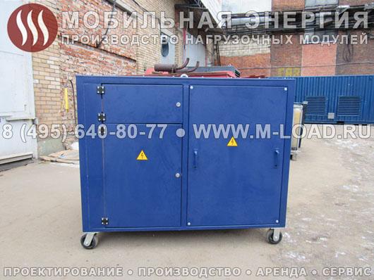 Нагрузочный модуль 250 кВт для химического предприятия