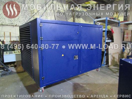 Поставка 2 нагрузочных модулей по 500 кВт для строительной компании