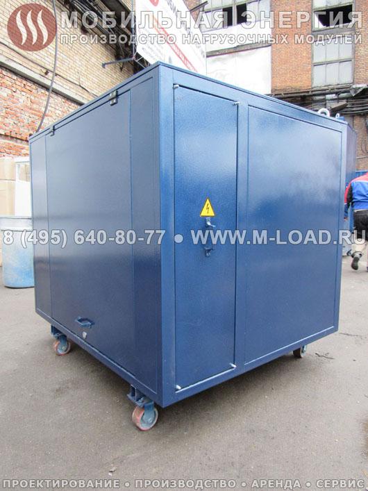 НМ-500-К2 нагрузочная станция для испытаний ДГУ