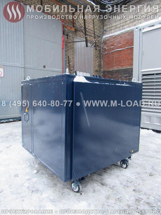 100 киловатный нагрузочный модуль с имитацией перекоса фаз