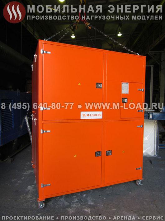 Нагрузочный модуль 2 МВт для испытаний промышленных электростанций