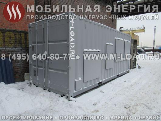 Высоковольтный нагрузочный резистор 3 МВт (10 кВ) в контейнере для нефтяной компании