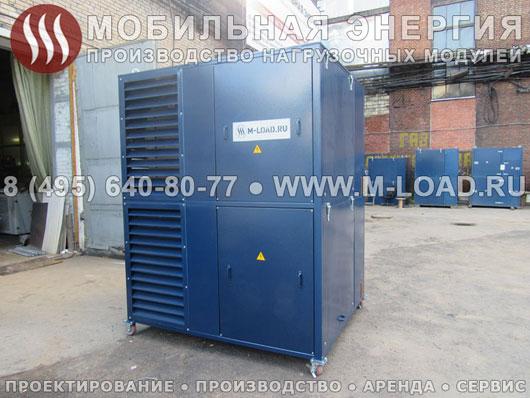 Нагрузочный стенд 2 МВт с ТТР для электросетевой компании