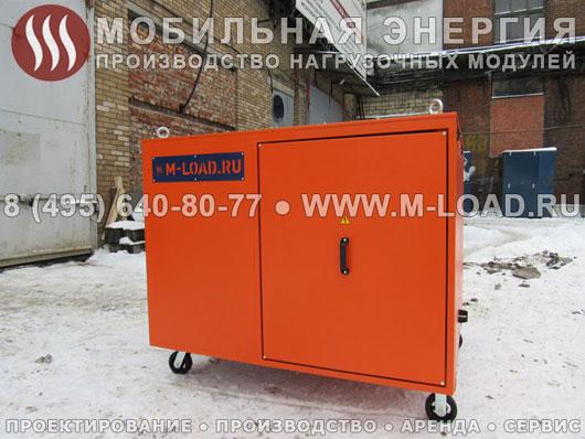 НМ-400-Т400-К2 для тестирования и догрузки дизель-генераторных установок на агропромышленном предприятии