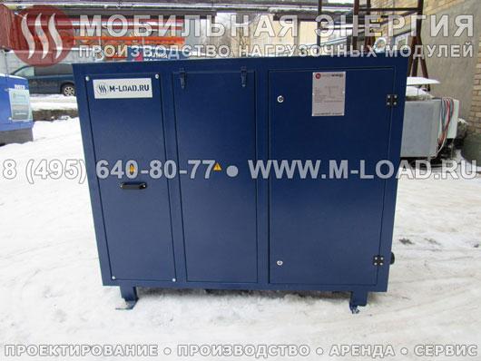 Нагрузочный стенд постоянного тока (700 В) с мощностью 500 кВт