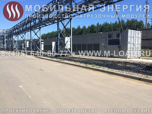 Высоковольтный нагрузочный комплекс 24 МВт с напряжением 6/10 кВ