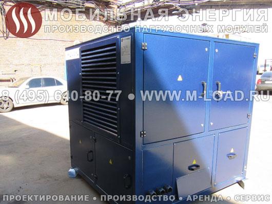 Резистивный нагрузочный модуль 1000 кВт (1250 кВА) для испытаний газовых электростанций