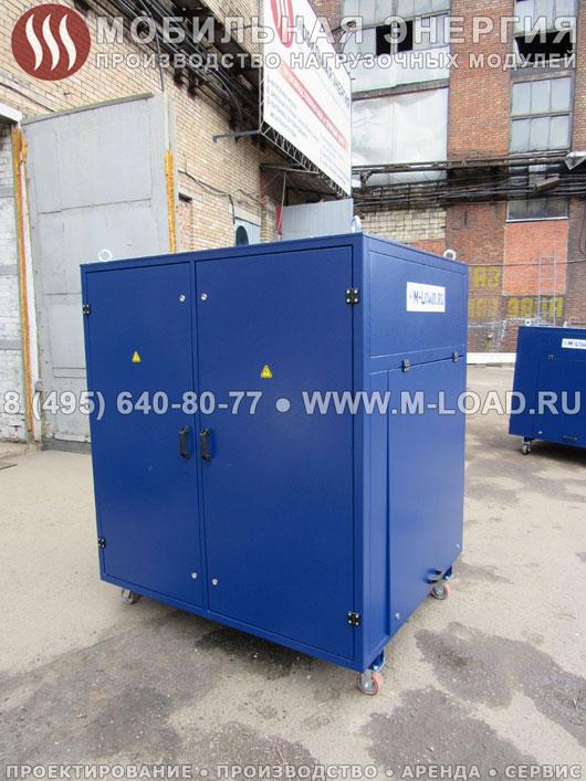 Резистивный нагрузочный модуль 750 кВт для мебельной фабрики