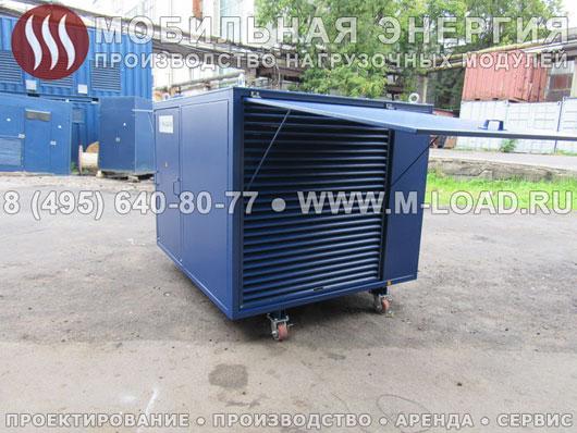 Резистивный нагрузочный модуль 700 кВт для телекоммуникационной компании