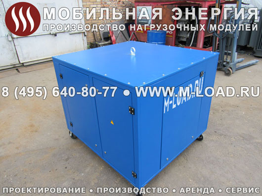 Балластный реостат 75 кВт для оператора сотовой связи в Крым