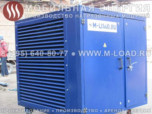 Нагрузочный резистив 500 кВт для тестирования и испытаний ДЭС