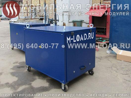 2 аэродромных нагрузочных модуля по 380 кВт (400 Гц) для генераторов